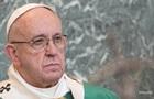Папа Римский считает пандемию реакцией природы на действия людей