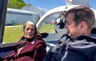 Пенсіонерка в 90 років керувала літаком