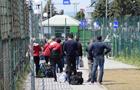 Работу единственного пешего перехода на польской границе показали на видео