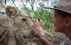 Леви в зоопарку понівечили доглядачку