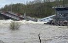 В России рухнул железнодорожный мост
