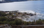 Огромный оползень снес в море дома в Норвегии
