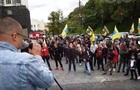 Под Кабмином протесты, стянули силовиков