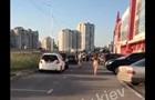 По улице в Киеве гуляла голая женщина