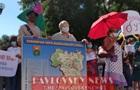 Возле Рады протестуют против админреформы