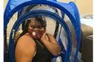 Пассажирка установила в самолете палатку из-за COVID-19