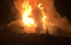 Черкасской области сгорела автоцистерна, водитель погиб