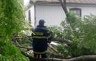 Непогода на Хмельнитчине повалила деревья и смыла дороги
