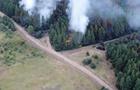 На Луганщине сохраняются два очага пожара