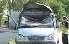 Підрив авто Укрпошти: затримано трьох підозрюваних