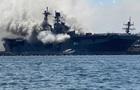 Названа причина взрыва на десантном корабле ВМС США