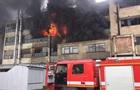 В Черновцах вспыхнул масштабный пожар на фабрике