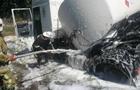 На Полтавщине в ДТП попал нефтевоз