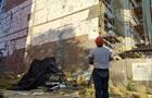 В Полтаве рухнули леса на новостройке