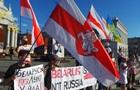 В Киеве прошла акция поддержки демократических выборов в Беларуси
