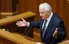 У Кравчука є пропозиція про мову на Донбасі