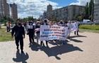 Під ОП вимагали проведення виборів на Донбасі