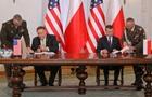 Польша и США подписали военное соглашение