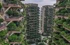 У Китаї провалився еко-проект ЖК з  вертикальним лісом