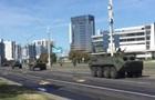 У центрі Мінська з явилася бронетехніка