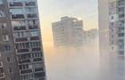 Щільний смог затягнув частину Києва