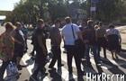 У Миколаєві учасники протесту перекрили одну з головних вулиць