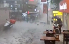 На Стамбул випала злива з великим градом