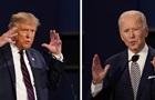 На теледебатах Трампа і Байдена вимикатимуть мікрофони