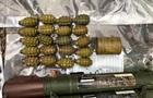 На Рівненщині виявили схованку зі зброєю