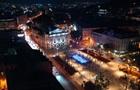 Во Львове открыли фонтан с азбукой Морзе