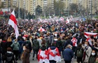 На вулиці Мінська вийшли більш як 100 тисяч осіб