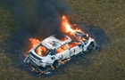 Блогер спалив свій Mercedes і зняв це на відео