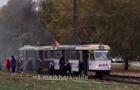 У Харкові на ходу загорівся трамвай