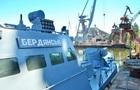 Захваченный Россией катер Бердянск отремонтировали