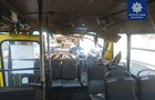 В Одессе автокран врезался в маршрутку с пассажирами