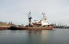 Под Черноморском тонет судно спасательной службы