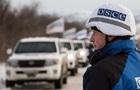 ОБСЄ повідомила про порушення режиму перемир я на Донбасі