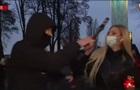 На журналістку в Києві напали в прямому ефірі