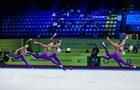 У Украины золото и серебро домашнего ЧЕ по художественной гимнастике