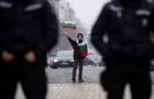 Болгарські поліцейські провели страйк у центрі Софії