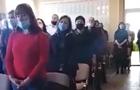 На Закарпатье новоизбранные депутаты ОТГ спели гимн Венгрии