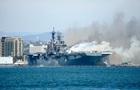 Вигорілий корабель ВМС США Bonhomme Richard вирішили списати