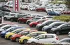 У листопаді різко скоротилися продажі нових легкових авто