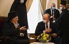 Шмигаль зустрівся в Туреччині з Вселенським Патріархом Варфоломієм