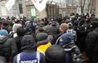 Протестувальники намагалися заблокувати нардепів у Раді
