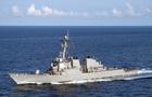 Американский эсминец покинул воды Черного моря
