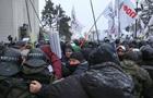На акції протесту біля ВР відбулися бійки