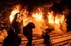 У Чехії на ходу загорівся пасажирський потяг