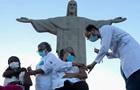 Бразилія почала вакцинацію препаратом Sinovac