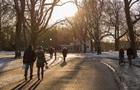 У Києві за день побиті три температурних рекорди